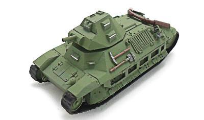 готовая модель танка FCM 36