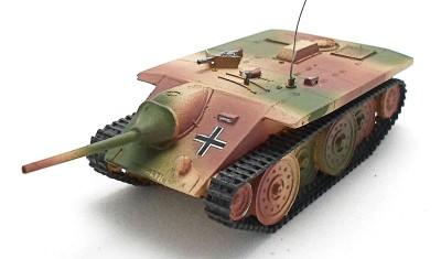 готовая модель танка Jagdpanzer E-10