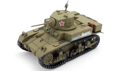 готовая модель танка M3A1 Stuart
