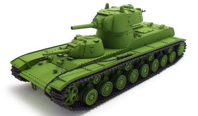 готовая модель танка СМК