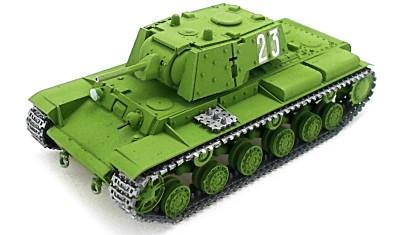 diecast tank KV-1E