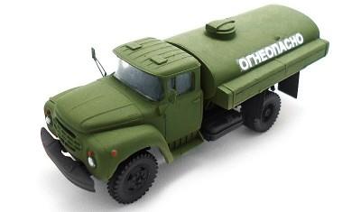 готовая модель грузовика АТЗ-4/130