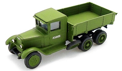 diecast truck ZIS-6