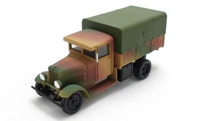 готовая модель грузовика FIAT-621