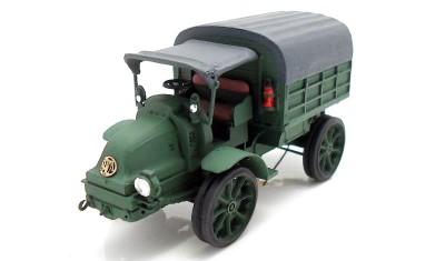 diecast military vehicle Latil TAR (1916)