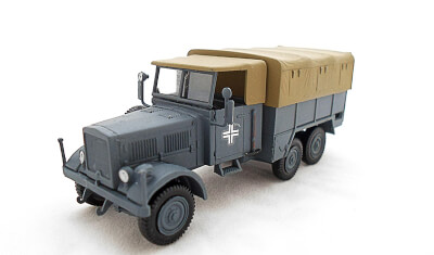 diecast military vehicle Einheits Diesel