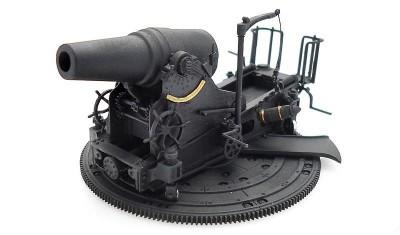 готовая модель пушки IJA 28cm Howitzer