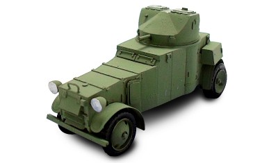 diecast military vehicle AMD White Laffly 50AM