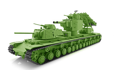 diecast tank Begemot