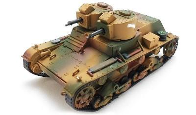 готовая модель танка 7TP