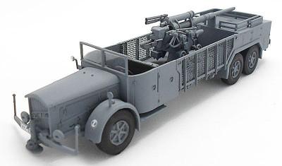 diecast military vehicle 8.8cm Flak/Vomag