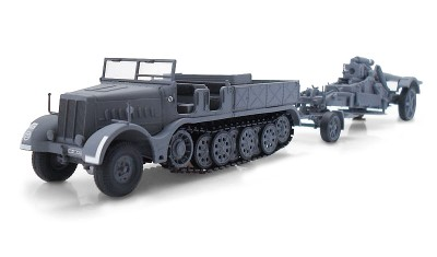 diecast truck 21cm Morser Kanone 18 FAMO