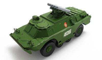 diecast military vehicle PTRK Konkurs
