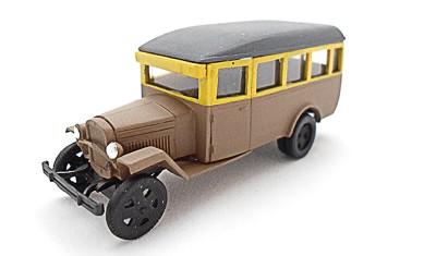 готовая модель автомобиля ГАЗ-03-30 (1945)