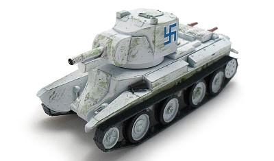 diecast tank Finnish SPG BT-42