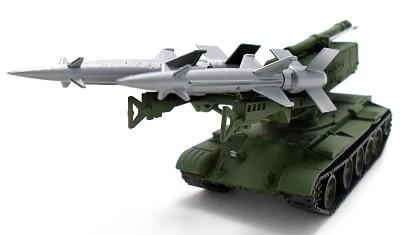 готовая модель танка T-55 / C-125M