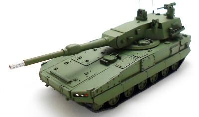 готовая модель танка Anders Polish Light Tank