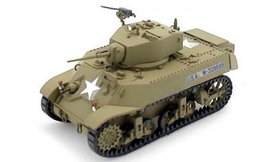 готовая модель танка M3A3 Stuart