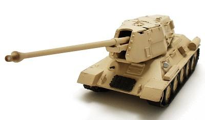 diecast tank T-34 SPG 122mm
