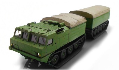 diecast military vehicle DT-10 Vityaz
