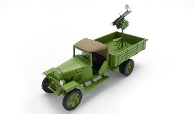 готовая модель грузовика ГАЗ-ММ / 2М
