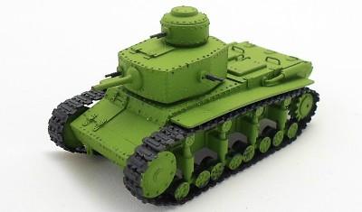 готовая модель танка T-12