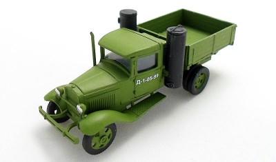 готовая модель грузовика ГАЗ-42