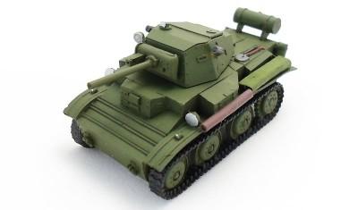 diecast tank Tetrarch Mk.VII