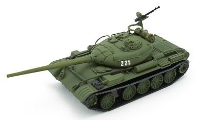 готовая модель танка Т-54-1