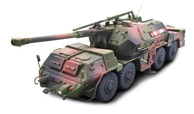 готовая модель танка DANA SPG
