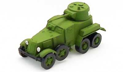 diecast military vehicle BA-10