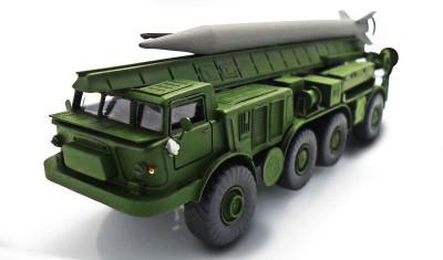 готовая модель грузовика 2К6 Луна