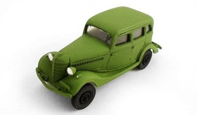 готовая модель автомобиля ГАЗ-61-73