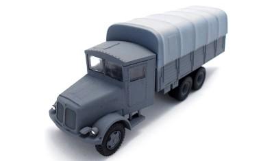 готовая модель грузовика Tatra T-111