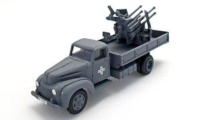 готовая модель грузовика Ford 6 (m.1943) / Flak.38