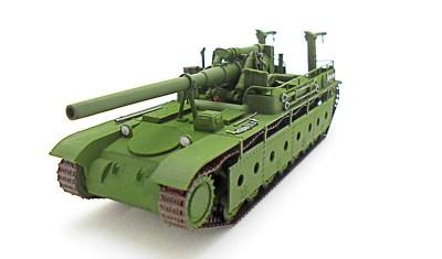 готовая модель танка СУ-14/152