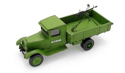 diecast truck ZIS-5/DShK