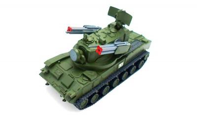 diecast tank 2К22 Tungusska