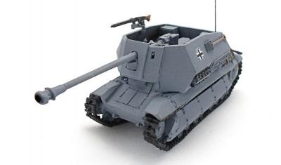 готовая модель танка FCM/75mm