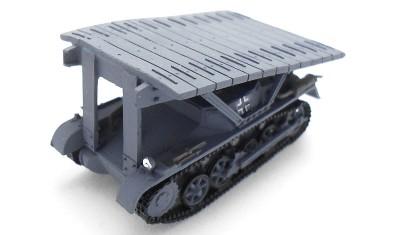 готовая модель танка Pz.Kpfw. I Bruckenleger