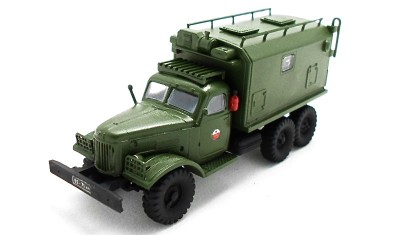 готовая модель грузовика ЗИЛ-157