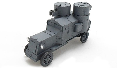 diecast military vehicle Ostin Putilov