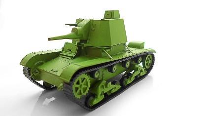готовая модель танка A-39