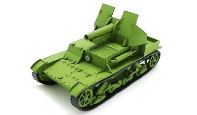 готовая модель танка СУ-5-2