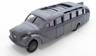 diecast bus Opel Blitzbus Ludewig
