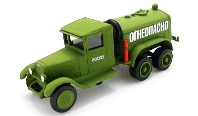 diecast truck BZ-38 (ZIS-6)