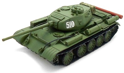 готовая модель танка Т-44