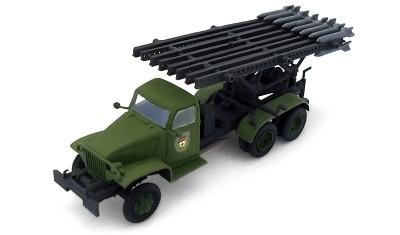 готовая модель грузовика BM-13(GMC)