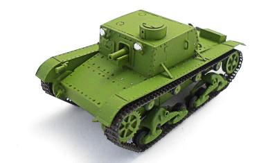 готовая модель танка СУ-1