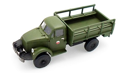 готовая модель грузовика ГАЗ-63А